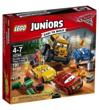 LEGO - Thunder Hollow cars3 Ref 10744