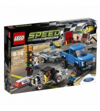 LEGO - Ford F-150 Raptor et le bolide Ford 75875