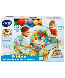 VTECH - Ma piscine Ó balles interactive Pop'Balles